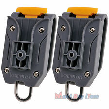 Safety Komelon Tape Measure Holder Belt Clip Waist Engineers Measuring Tool 2pcs