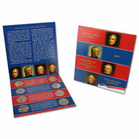 2009 P and D Eight Piece Presidential Dollar Mint Set Original Government Pack