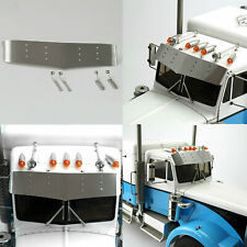 For 1/14 TAMIYA King Hauler Tractor RC Truck DIY Model Car LESU Metal Visor Set