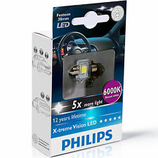 Philips Xtreme Vision Festoon LED Bulb C5W 6000K 30MM (Single Bulb)