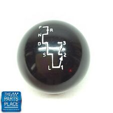 1967-79 A F Body Impala Nova Black Hurst Dual Gate Shifter Ball W / Pattern Rare