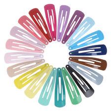 20 Stück / Set bonbonfarbene Haarspangen, Mädchen Haarschmuck