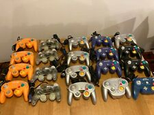 Lot of 20 Nintendo Gamecube Controller Orange Wave Bird Clear Violet HORI