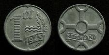 Netherlands - 1 Cent 1943 zink