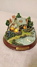 Vintage Thomas Kinkade Cottage Everett's Cottage Lighted Battery Operated
