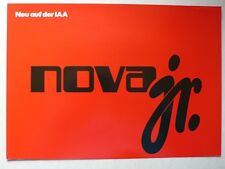 Prospekt Lada Nova jr., ca.1981, 4 Seiten
