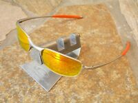 OAKLEY SQUARE WIRE 2.0 SILVER FIRE SONNENBRILLE TINCAN TINFOIL WHISKER WHY A T E