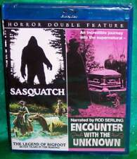 NEW OOP CODE RED SASQUATCH ENCOUNTER WITH UNKNOWN DOUBLE FEATURE HORROR BLU RAY