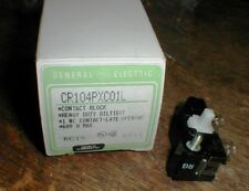 Lot-2 NEW GE CR104PXC01L Heavy Duty CONTACT BLOCK  in Original Box New Old Stock
