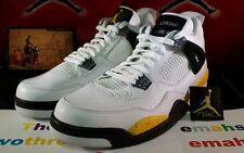 Nike Air Jordan 4 Retro Tour Yellow sz 12 IV xi x iii oreo toro vii legend blue