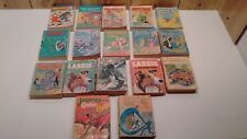 Lot of 17 vintage  Big Little Books 8 Disney characters, Lassie, Fantastic Four