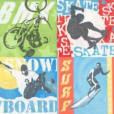 GreenBox Art Extreme Sports by Roger Groth Painting Print on Wrapped Canvas
