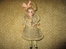 "7"" Antique  Adorable Gerbruder Kuhnlenz Doll All Original"
