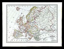 1829 Malte Brun Map - Europe - France Spain Austria Italy Germany Sweden Greece