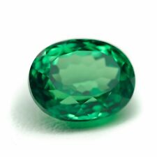 5.32ct Tsavorite Lab Created Green Garnet (YAG) Loose Stone