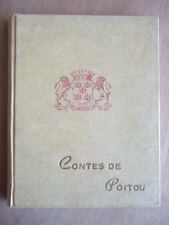 CONTES DE POITOU. EDITIONS SFIL. HISTOIRES LEGENDES POITEVINES. PINEAU JOZEREAU