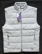 Ralph Lauren Purple Label active Quilted Vest Silver melange talla s
