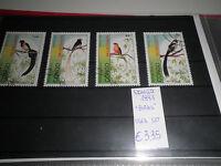 "FRANCOBOLLI CONGO 1993 ""UCCELLI NATURA BIRDS""TIMBRATI USED SET (CAT.9)"