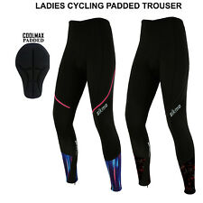 Women Cycling Tights Winter Thermal Padded Trousers  ladies Legging biking Sikma