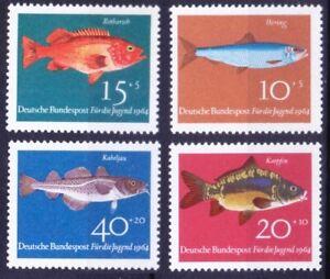 Germany 1964 MNH 4v, Fish, Marine