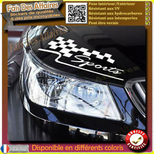 sticker autocollant damier sport tuning deco voiture decal racing drapeau