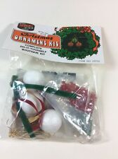 VINTAGE NIP CHRISTMAS ORNAMENT KIT Distasio Balls