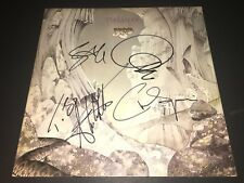 Yes SIGNED Relayer LP Album Vinyl X4 Jon Anderson Chris Squire Steve Howe PROOF