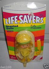 #6397 Nrfc Vintage Remco Life Savers Li'l Lemon Doll