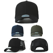 XL~2XL XXL 60~63Cm Unisex Mens Plain Summer Mesh Blank Baseball Cap Trucker Hats