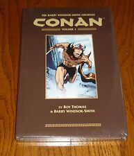 Conan Archives Volume 1 SEALED Barry Windsor-Smith, Marvel, Dark Horse Comics