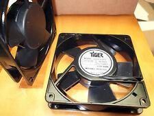 Fan 120mm 110 120 Volts ac Fans Cooling Tiger 119 x119x 25.4mm Sleeve Term 1pc