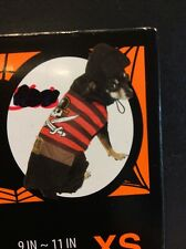 Dog Pirate With Little Hat Halloween Costume - New Size XS