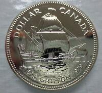 CANADA 1979 SPECIMEN COMMEMORATIVE SILVER DOLLAR GRIFFON TRICENTENNIAL COIN