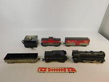 AS304-4# LOUIS MARX CO Spur 0 Modellbahn US/USA Dampflok/Lok 999 +Wagen NYC+B&O