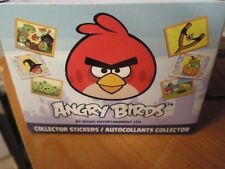 Angry Birds Collector Stickers 8 Stickers Per Pack