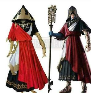 Final Fantasy XIV FF14 The Crystal Exarch Cosplay Costume Party Halloween