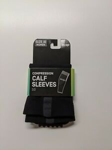 New CEP Compression 3.0 Calf Sleeves Women Size 3 III Black 20-30 mmHg