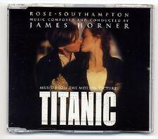 James Horner Maxi-CD Rose / Southampton - 3-track CD - Titanic - Sissel Kyrkjebø
