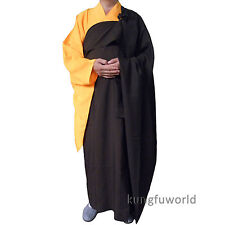Shaolin Zen Buddhist Monk Dress Manyi Kesa Cassock Robe Meditation Suit