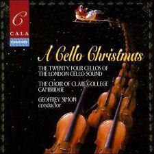 A Cello Christmas: London Cello Sound, Choir Of Claire College  (CD) NEW