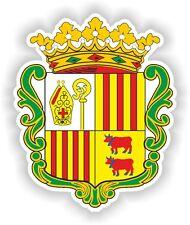 Andora Andorra Escudo De Armas pegatina de parachoques etiqueta del vinilo autocollant aufkleber