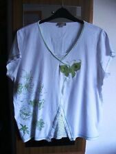 Mock 2-piece dressy t-shirt Matalan Soon range size 22