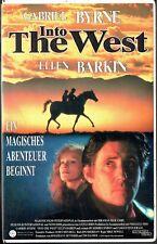 (VHS) Into the West - Gabriel Byrne, Ellen Barkin, Ciaran Fitzgerald (1992)