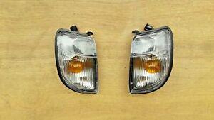 Front Corner Lights Indicator Lamps for NISSAN D22 NAVARA PICKUP 1997-2000 LH+RH