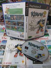 Playstation 2 PS2:Klonoa 2 - Lunatea's Veil [TOP NAMCO & 1ERE EDITION RARE] Fr