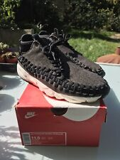NIKE WOVEN FOOTSCAPE CHUKKA UK 10.5 US 11.5 AIR OG INNEVA DENIM WOOL QS MAX