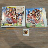 One Piece Unlimited World Red Day One Edition (Nintendo 3DS, 2014) Bandai CIB