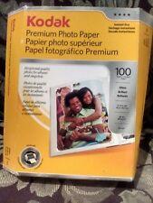 "Kodak Premium Photo Paper Sheets Gloss Instant Dry 4x6"""