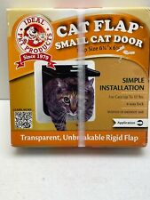 """Ideal Pet Products Cat Flap Small Cat Door 6 1/4"""" x 6 1/4"""" Lexan Flap New"""