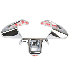 Steering Wheel Chrome Inserts Cover Trim For VW Golf Polo Jetta Caddy Touran